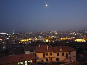 ③イスタンブール ブルーモスク夜景