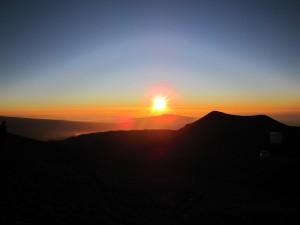 2ハワイ島マウナケア夕陽 (330)
