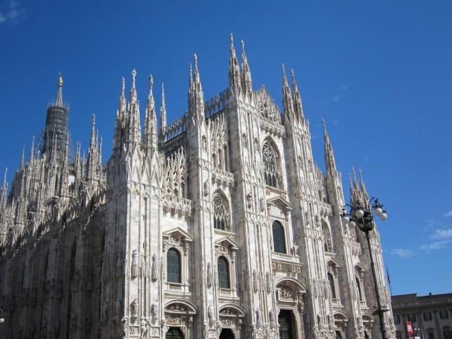 イタリアミラノ大聖堂①