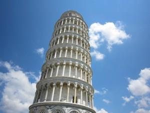 ピサの斜塔③