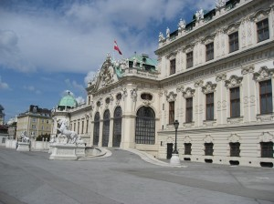 ベルヴェデーレ宮殿④