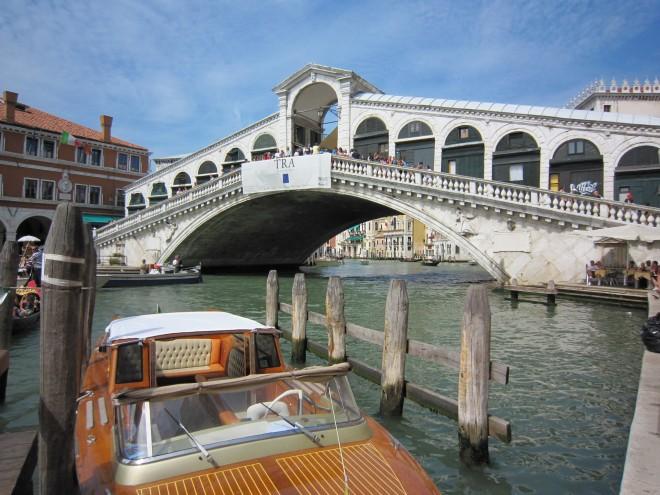 ④ヴェネチア リアルト橋